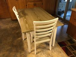 Ashley Table with 4 Padded Chairs