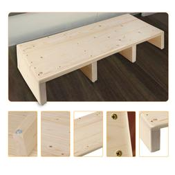 Bench Table Footstool Rectangle Solid Wood Chair Foot Stool