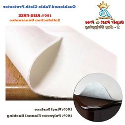 Cushioned Dining Table Pad Desk Protector Flannel Backed Hot