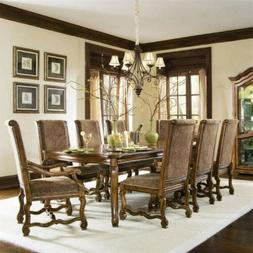 Bernhardt Dining Set: Table, 8 Chairs, Pads, Leaf Bags MSRP