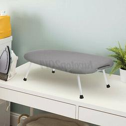 Foldable Home Collapsible Tabletop Ironing Board Pad Table w