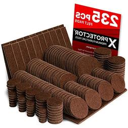 X-PROTECTOR Premium GIANT Pack Furniture Pads 235 piece! GRE