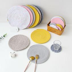 Kitchen Accessories Linen Home Decoration Placemats Table Ma