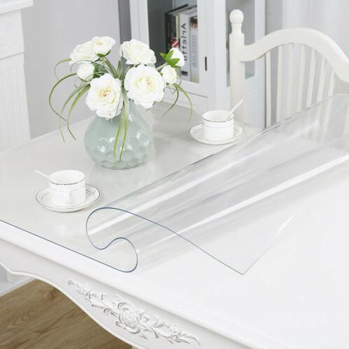 1 5mm pvc clear tablecloth waterproof transparent