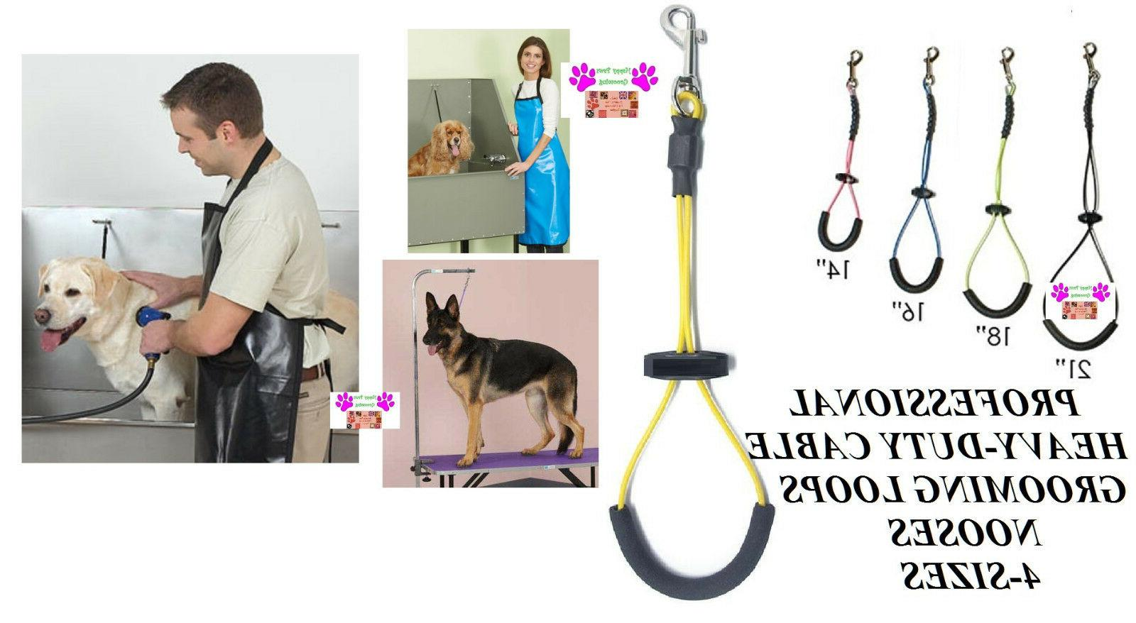 heavy duty pet cable loop padded dog