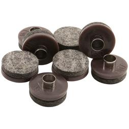 """Nail-on, 1"""" Heavy Duty Felt Pads for Wood Furniture and Hard"""
