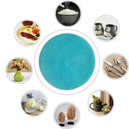 Round Tableware Placemats Insulation Anti-Hot Table Woven Ma