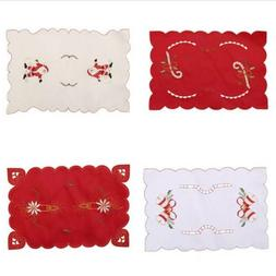 Table Place Mat Santa Claus Tables Home Heat Insulation Kitc