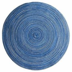Table Placemats Ramie Insulation Pad Round Linen Coaster Mat