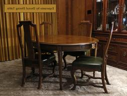Vintage Esperanto by Drexel Dining Table, with Chairs, Leave